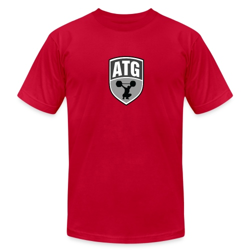 ATG Red - Men's Fine Jersey T-Shirt