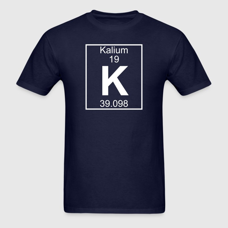 Element 019 - K (kalium) - Full T-Shirts - Men's T-Shirt