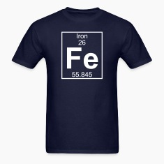 Element 026 - Fe (iron) - Full T-Shirts