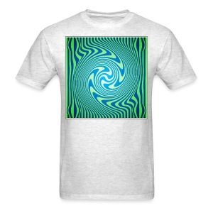 Green Vortex 1 - Men's T-Shirt