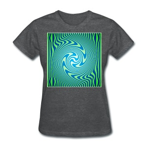 Green Vortex 1 - Women's T-Shirt