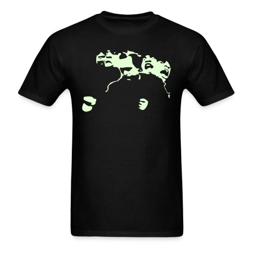 GLOW NABBGUIRE - Men's T-Shirt