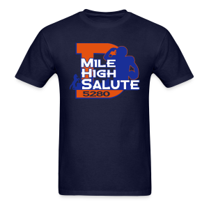 Mile High Salute - Mens - Men's T-Shirt