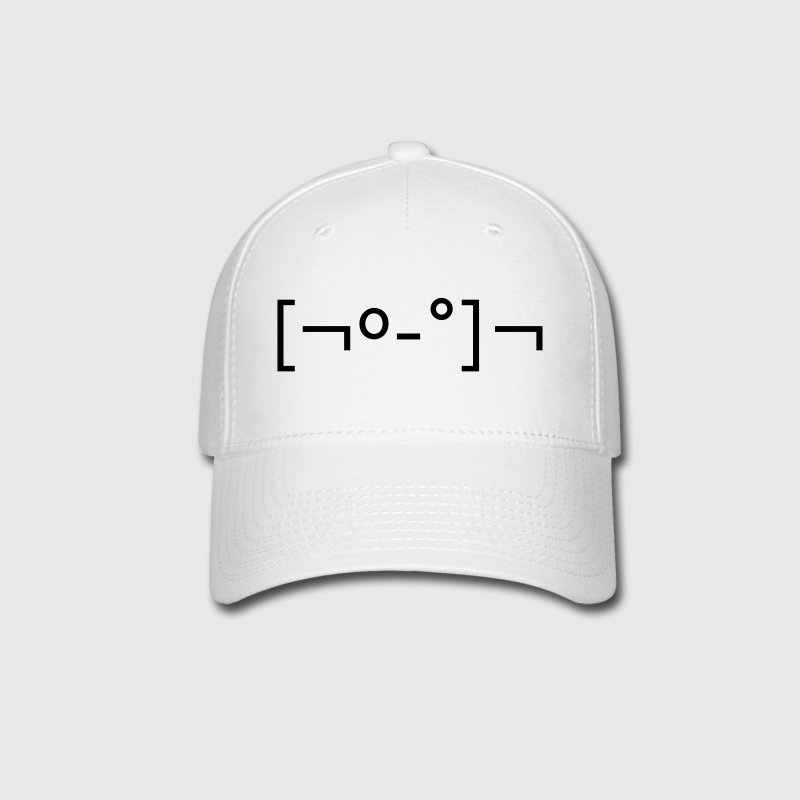 Kaomoji Zombie Japanese Emoticon Caps - Baseball Cap