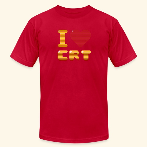 I ♥ CRT - Men's Fine Jersey T-Shirt
