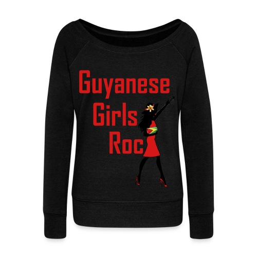 GGR Wide Neck Sweater - Women's Wideneck Sweatshirt