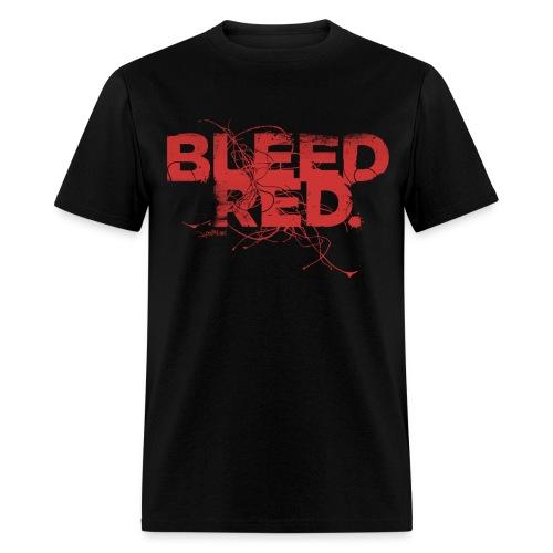 Bleed Red T-Shirt - Men's T-Shirt