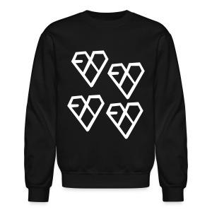 EXO - Wolf Logo (4x) - Crewneck Sweatshirt