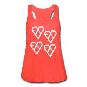 EXO - Wolf Logo (4x) - Women's Flowy Tank Top by Bella