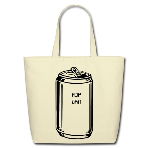 Pop Can Bag - Eco-Friendly Cotton Tote
