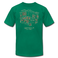 T-Shirts ~ Men's T-Shirt by American Apparel ~ Shotwells Oldstyle Dark