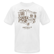 T-Shirts ~ Men's T-Shirt by American Apparel ~ Shotwells Oldstyle Light