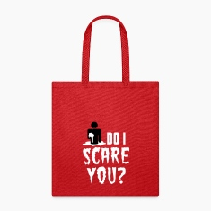 So I scare you? Zombie Halloween eating brains Bags & backpacks