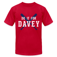 T-Shirts ~ Men's T-Shirt by American Apparel ~ Do It For Davey Tee - Men's