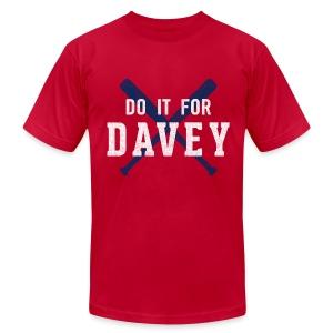 Do It For Davey Tee - Men's - Men's Fine Jersey T-Shirt