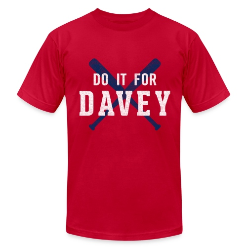 Do It For Davey Tee - Men's - Men's Fine Jersey T-Shirt