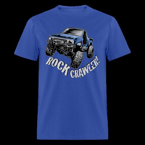 Cool Blue Rock Crawling Truck - Men's T-Shirt