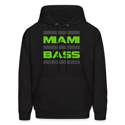 Miami Bass Hoodie (Black) - Men's Hoodie