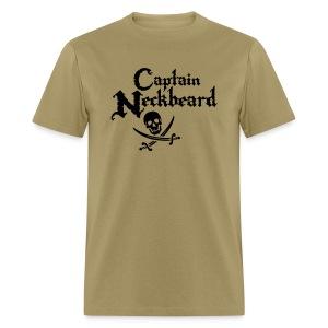 Captain Neckbeard Shirt - Men's T-Shirt