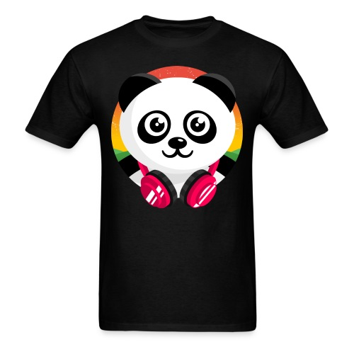 Panda Mix Show T-Shirt (Sunrise) - Men's T-Shirt