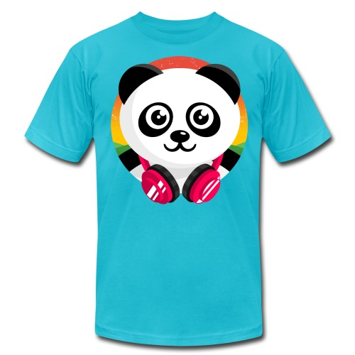 Panda Mix Show T-Shirt (Sunrise) - Men's  Jersey T-Shirt