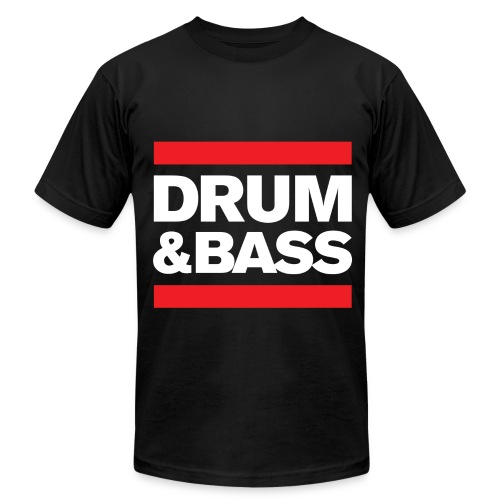 Run Drum and Bass Shirt - Men's  Jersey T-Shirt