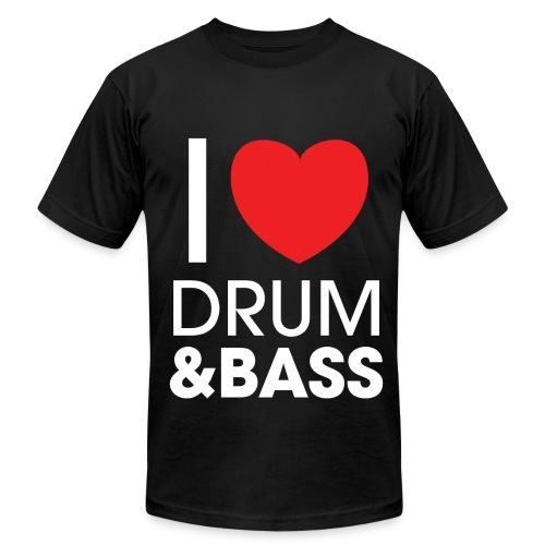I Love DNB Shirt - Men's  Jersey T-Shirt