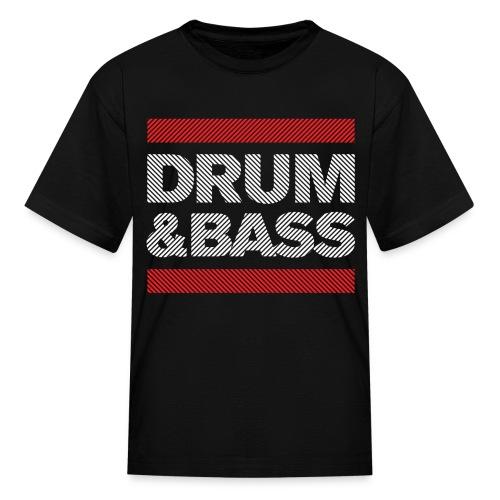 Run DNB T Shirt (Striped) - Kids' T-Shirt