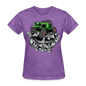 The Green Grim Jeeper - Women's T-Shirt
