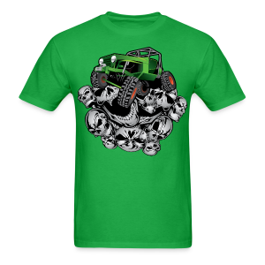 The Green Grim Jeeper - Men's T-Shirt