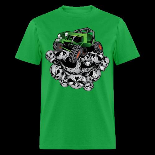 The Green Grim Jeeper - Men's T-Shirt