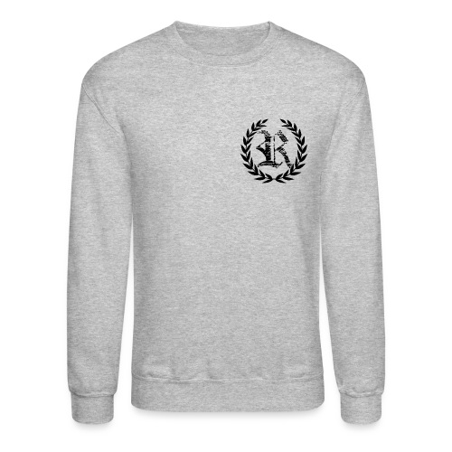 R Wreath CREW Neck - Crewneck Sweatshirt