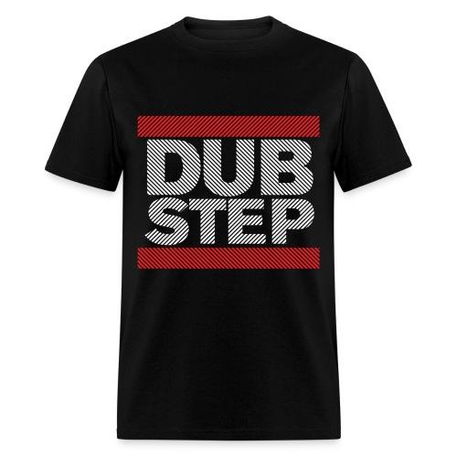 Run Dubstep Shirt (Striped) - Men's T-Shirt