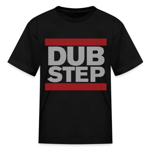 Run Dubstep Shirt (Striped) - Kids' T-Shirt