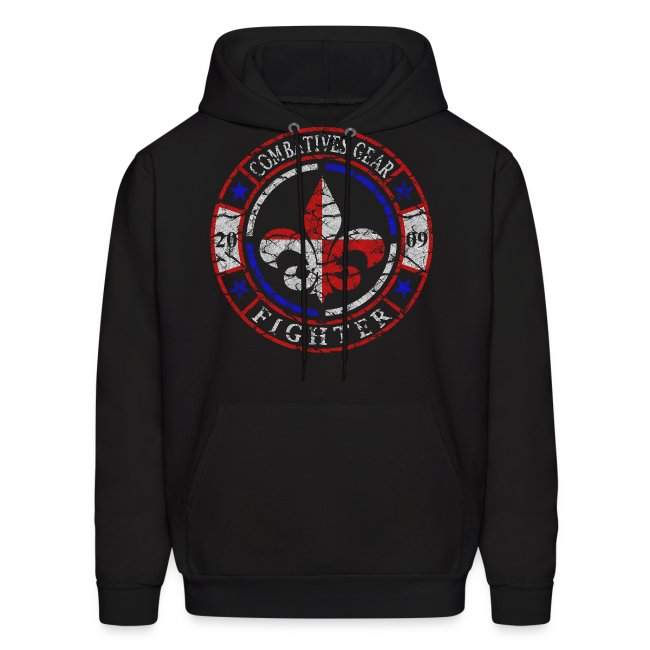 Combatives Gear Fighter Fleur de Lis Hoodie
