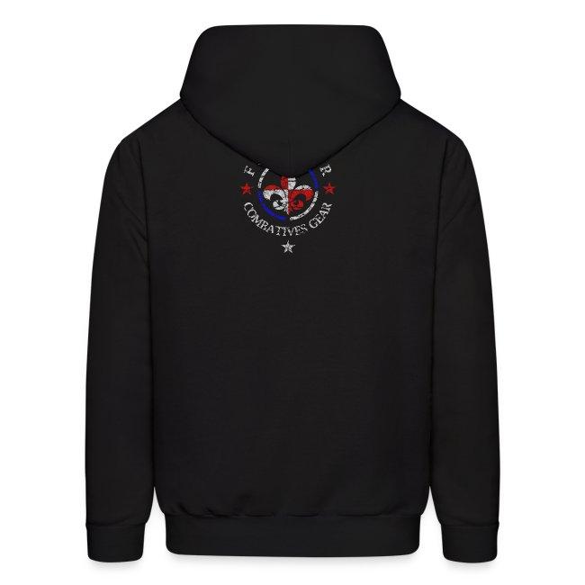 Combatives Gear Fighter Fleur de Lis Hoodie