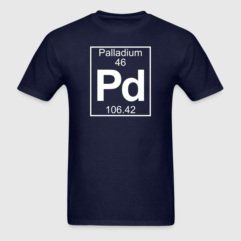 Element 46 - Pd (palladium) - Full T-Shirts - Men's T-Shirt