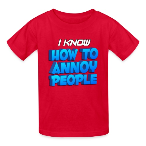 Kid's How To Annoy T-Shirt - Kids' T-Shirt