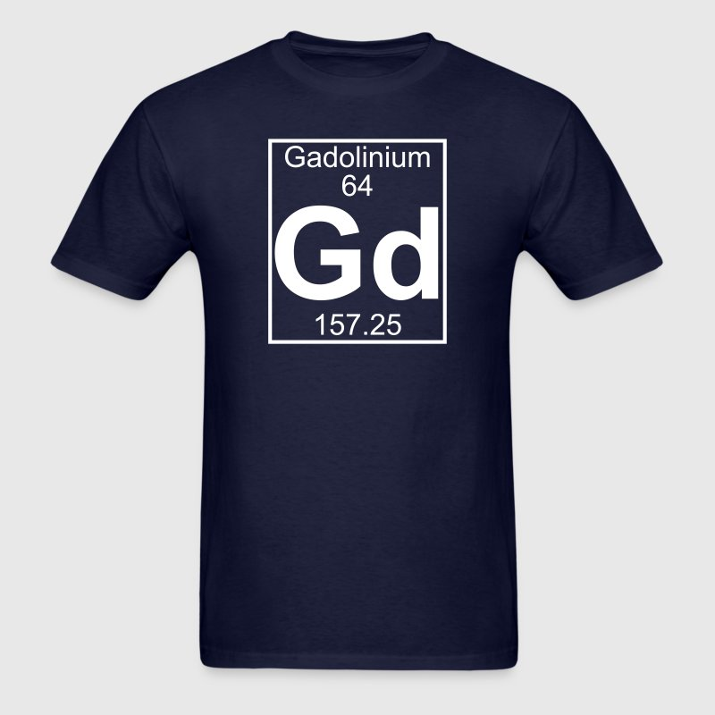 Element 64 - Gd (gadolinium) - Full T-Shirts - Men's T-Shirt