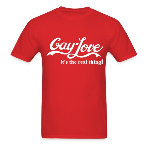 Gay Love - Men's T-Shirt
