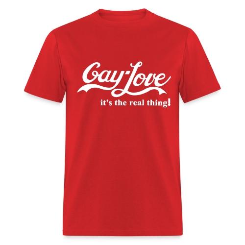 Gay Love - Men's T-Shirt