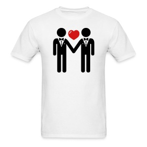 GAY MARRIED TEE - Men's T-Shirt