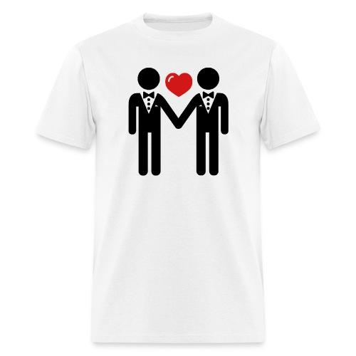 GAY MARRIED TEE - Men's T-Shirt
