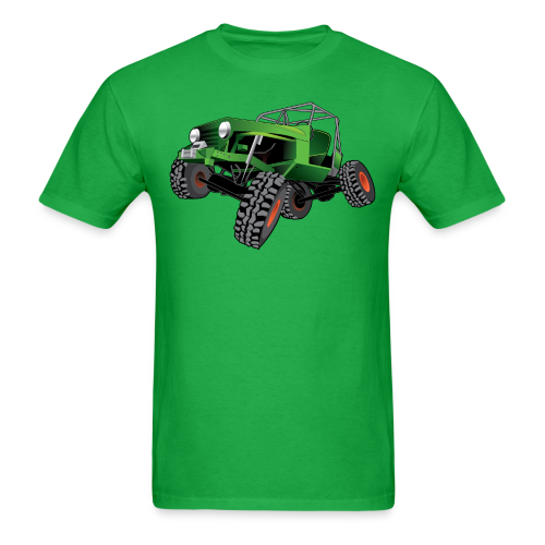 green jeep shirt - Men's T-Shirt