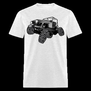 grey jeep shirt - Men's T-Shirt