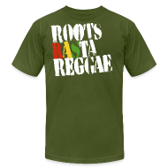 T-Shirts ~ Men's T-Shirt by American Apparel ~ Roots Rasta
