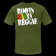 T-Shirts ~ Men's T-Shirt by American Apparel ~ Roots Rasta
