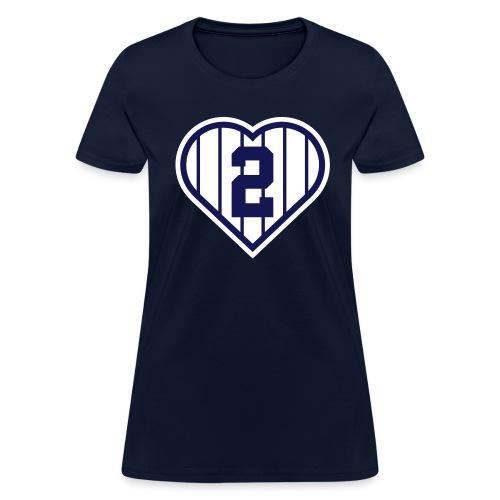 I Heart 2 - Women's T-Shirt