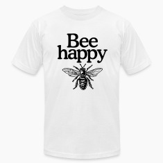 Bee happy (Men's t-shirt)