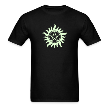 Pentagram - Supernatural - Demons - Sam - Dean T-Shirts
